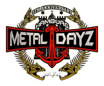Metal Dayz Hamburg als Logo - Inklusion Muss Laut Sein ist dabei