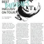 Best BUDDIES Inklusiv on Tour so lautet der Titel des Berichtes, welcher verlinkt ist